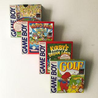 Gameboy Classic: Spil i original emballage