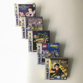 Gameboy Color: Spil i original emballage