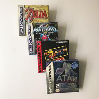 Gameboy Advance: Spil i original emballage