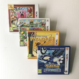 3DS: Spil i original emballage