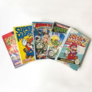 NES: Spil i original emballage