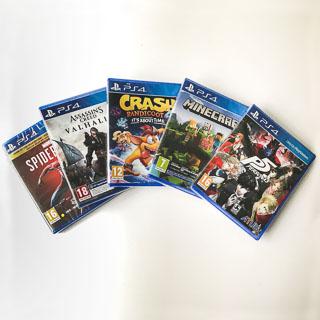 Playstation 4: Nye spil