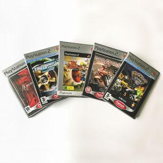 Playstation 2-spil: Platinum
