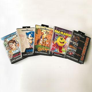 Sega Mega Drive: Spil i original emballage