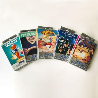Game Gear: Original emballage