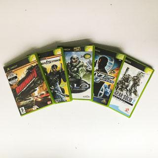 Xbox Original: Spil