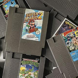 NES: Løse spil