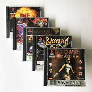 Playstation 1: Platinum-spil
