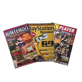 Blade og magasiner