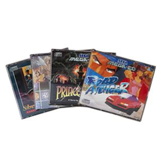 Sega Mega CD: Spil
